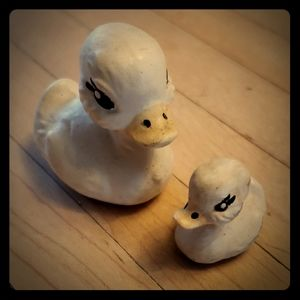 Other - Set of 2 Miniature Vintage Ducklings